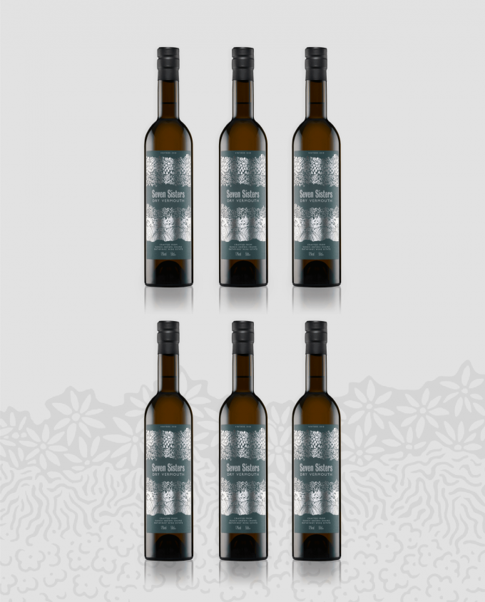 Seven Sisters Dry White Vermouth 2017 Case
