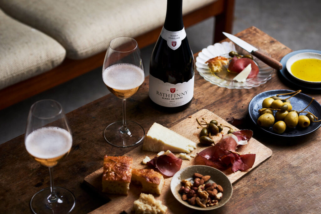 2016 Blanc de Noirs Food Pairing at Home
