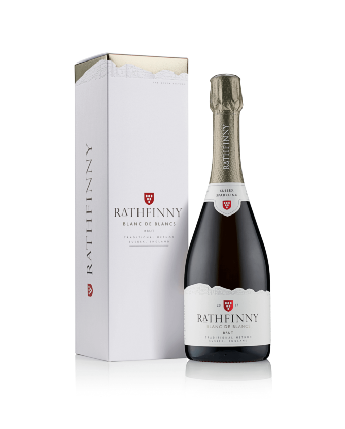 Sparkling wine with gift box